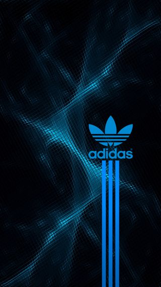 Обои на телефон адидас, синие, логотипы, adidas