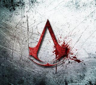 Обои на телефон логотипы, крид, ассасин, crest assassinscreed