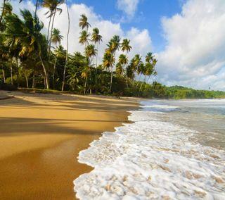 Обои на телефон природа, пейзаж, морской берег