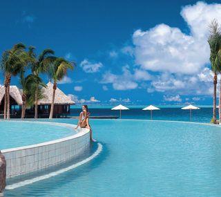 Обои на телефон luxury, pool, синие, небо, праздник, роскошные