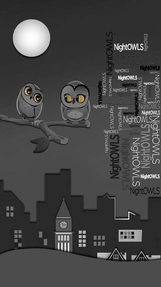 Обои на телефон материал, дизайн, nightowls, hd