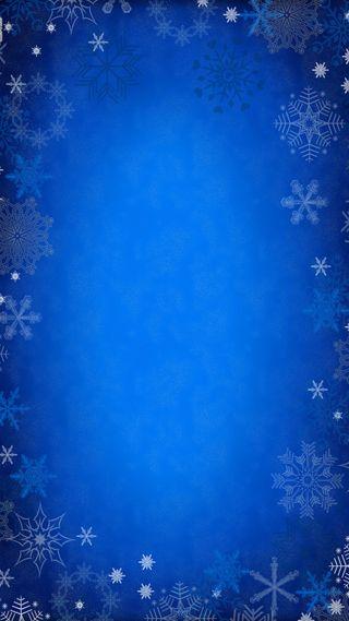 Обои на телефон снежинки, фон, снег, синие, зима