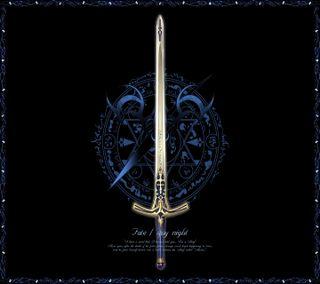 Обои на телефон меч, excalibur