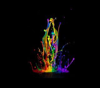 Обои на телефон цветные, красочные, брызги, color splash