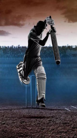 Обои на телефон крикет, ночь, cricket batsman, batsman