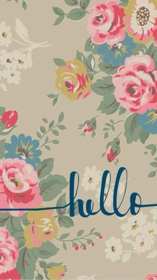 Обои на телефон привет, мир, милые, hello