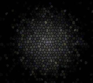 Обои на телефон мозаика, черные, абстрактные