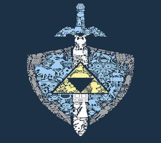 Обои на телефон щит, меч, мастер, игры, зельда, видео, link
