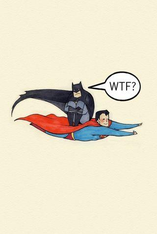 Обои на телефон лол, супермен, милые, бэтмен, lol, batman and superman