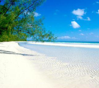 Обои на телефон песок, пляж, beach2