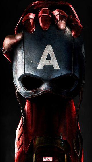 Обои на телефон против, железный человек, мстители, марвел, кепка, америка, marvel, darkdroid, cap vs ironman