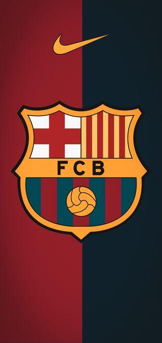 Обои на телефон футбольные клубы, месси, логотипы, барселона, 2020