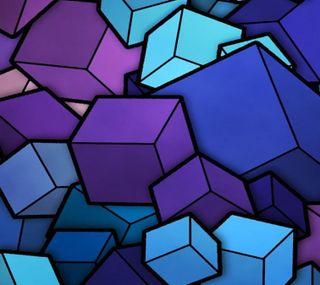 Обои на телефон кубы, новый, галактика, s5, s4, s3, galaxy s5 new cubes, galaxy