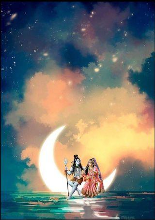 Обои на телефон религиозные, шив, духовные, shivam, shiv parvati