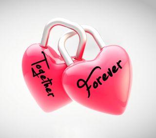 Обои на телефон флирт, вместе, сердце, романтика, поговорка, новый, навсегда, любовь, блокировка, love