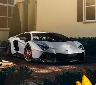 Обои на телефон роскошные, машины, ламборгини, авто, авентадор, luxury, lamborghini, aventador