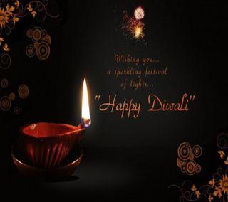 Обои на телефон фестиваль, счастливые, пожелания, дивали, happy diwali