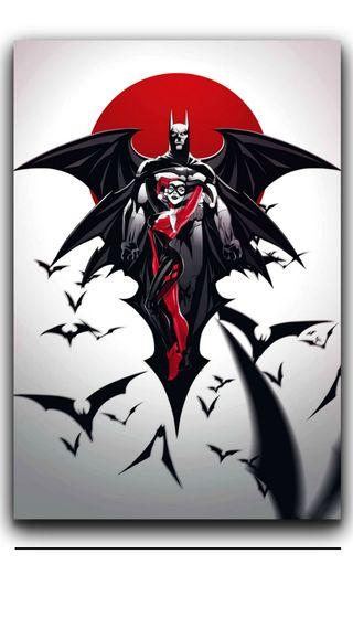 Обои на телефон харли, темные, куинн, джокер, бэтмен, batman and h quinn