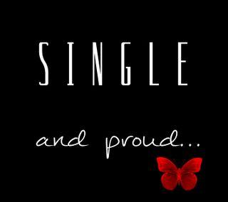 Обои на телефон один, жизнь, гордый, высказывания, single and proud