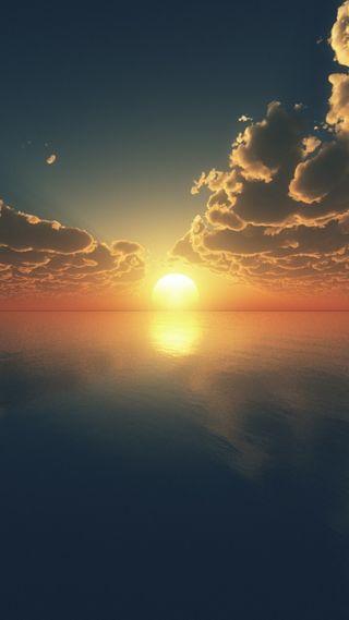 Обои на телефон пустыня, прекрасные, восход