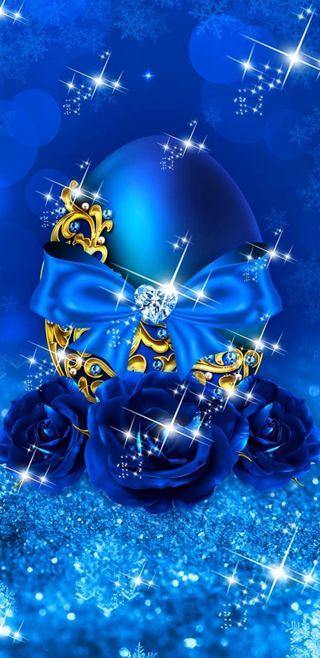 Обои на телефон яйца, пасхальные, синие, симпатичные, сверкающие, роскошные, розы, блестящие, luxury