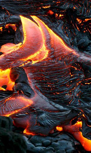Обои на телефон сумасшедшие, черные, смертоносный, огонь, лава, красые, дым, гореть, вулкан, eruption