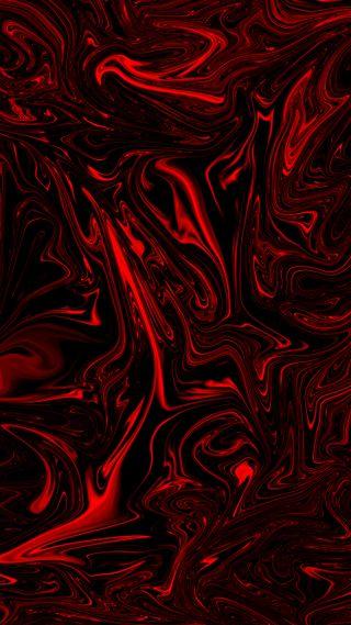 Обои на телефон микс, черные, темные, металл, красые, жидкость, дизайн, абстрактные, Red