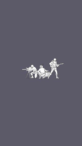 Обои на телефон солдаты, креативные, рок, простые, музыка