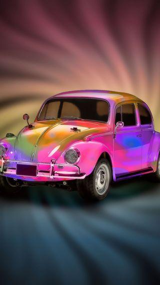 Обои на телефон фольксваген, машины, красочные, жук, автомобили, volkswagen