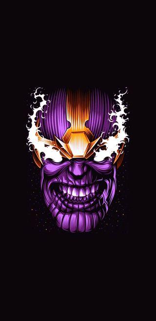 Обои на телефон финал, титан, танос, мстители, конец, игра
