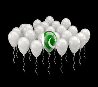 Обои на телефон шарики, пакистан, счастливые, независимость, любовь, день, август, ballons love pakista, 14th