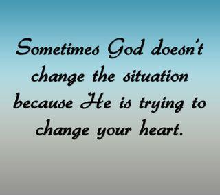 Обои на телефон менять, цитата, сердце, приятные, поговорка, новый, бог, situation