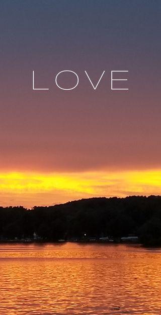 Обои на телефон вера, солнце, прекрасные, отражение, оранжевые, небо, любовь, закат, деревья, вода, love