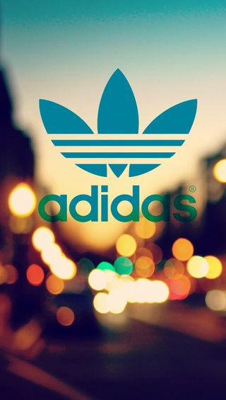 Обои на телефон адидас, огни, логотипы, город, бренды, adidas