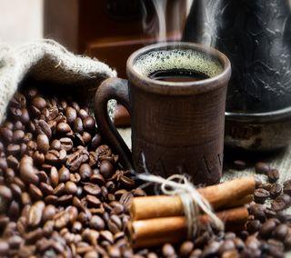 Обои на телефон кофе, утро, ты, morning coffee, 3д, 3d coffee