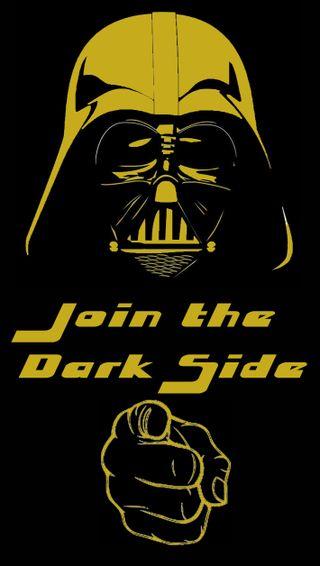 Обои на телефон darthvader, s5, темные, золотые, желтые, звездные войны, вейдер, дарт