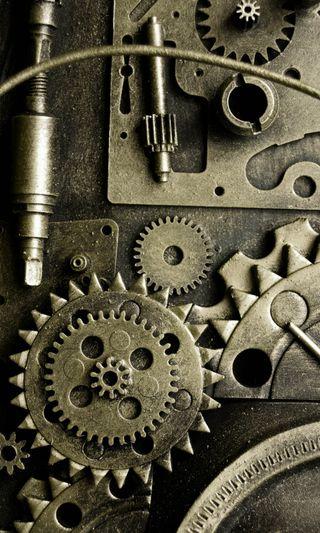 Обои на телефон шаблон, механизм, металл, машина, железный
