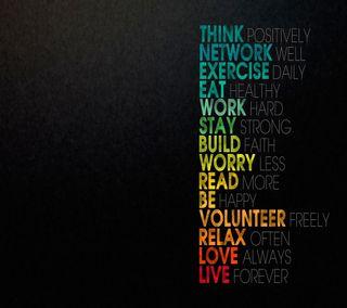 Обои на телефон думать, работа, приятные, прекрасные, правило, любовь, жизнь, ешь, волноваться, read, love, live, life rule, ayings