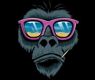 Обои на телефон обезьяны, dfgx