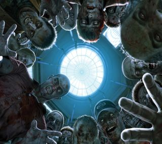 Обои на телефон зомби, ужасы, развлечения, новый, монстры, крутые, игра, rising zombies