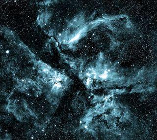 Обои на телефон туманность, космос, звезды, галактика, galaxy