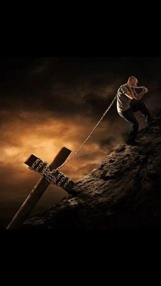 Обои на телефон цепь, христос, крест, темные, мужчина, мальчик, исус, бог, арт, son of god, helping jesus, art