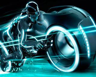 Обои на телефон трон, мотоцикл
