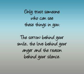 Обои на телефон доверять, цитата, только, тишина, поговорка, новый, любовь, sorrow, only trust, love