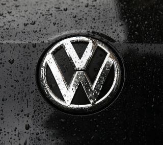 Обои на телефон bora, jetta, volkswagen, vw, логотипы, дождь, сияние, фольксваген, гольф