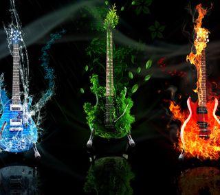 Обои на телефон гитара, музыка, жизнь, guitar hd