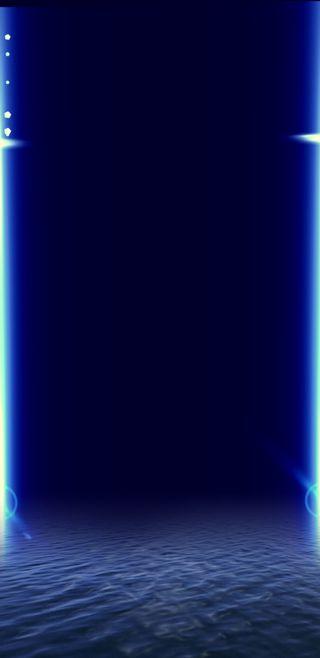 Обои на телефон глубокие, экран, трещина, треснутые, темные, телефон, синие, море, луна, звезды, звезда, дерево, deep blue sea