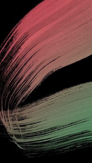 Обои на телефон мягкие, черные, простые, красые, зеленые, арт, the turn, hd, brush, art