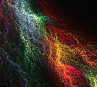 Обои на телефон молния, цветные, абстрактные