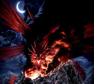 Обои на телефон дракон, dragon, ---------------